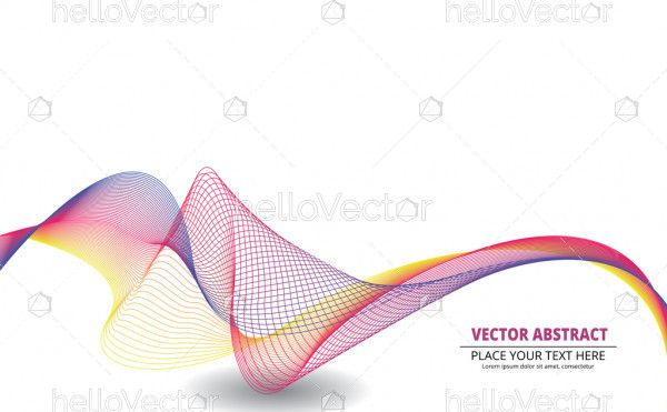 Vector abstract banner.