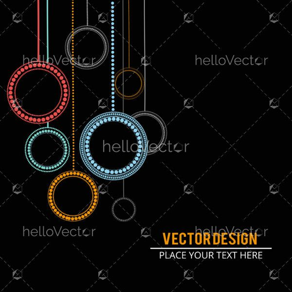 Vector abstract banner