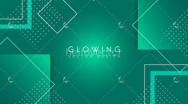 Abstract geometric shape gradient vector background.