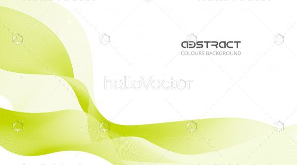 Abstract flow shape free vector background.