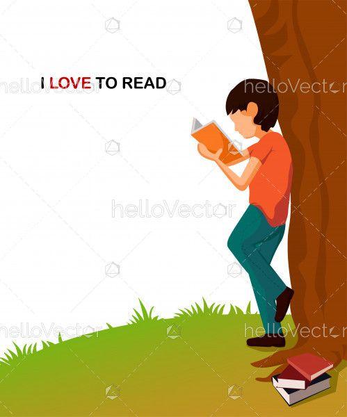 I love reading Illustration