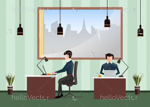 Business concept - Vector flat illustration