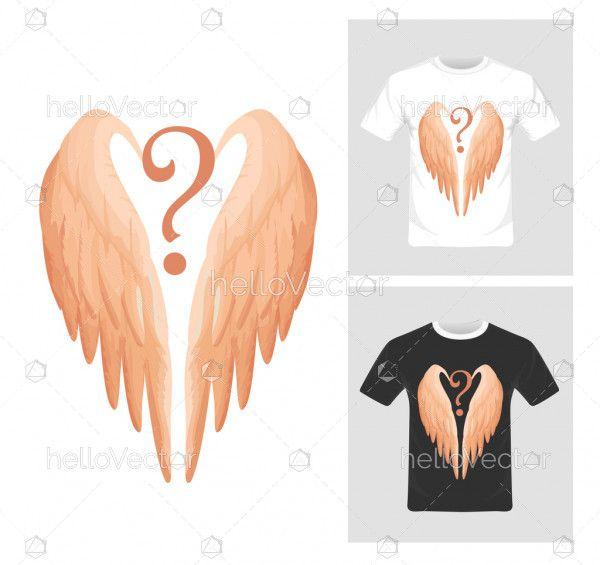 T-shirt graphic design vector illustration.
