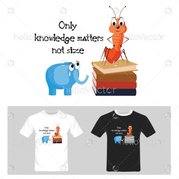 Funny graphics with text. T-shirt graphic design vector illustration