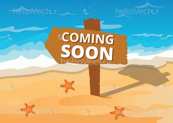 Coming soon background