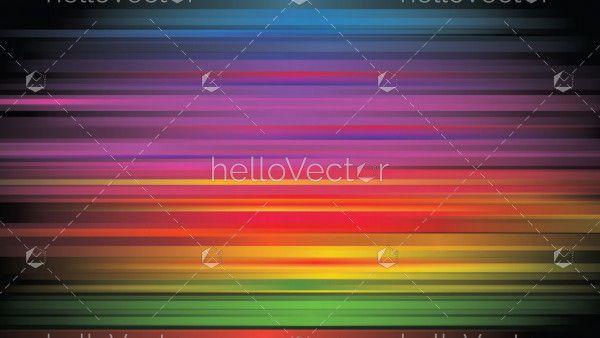 Rainbow colored gradient background
