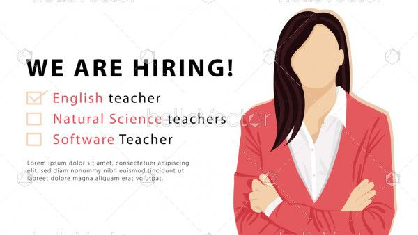Hiring teacher online background