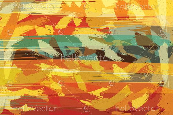 Abstract painting color texture