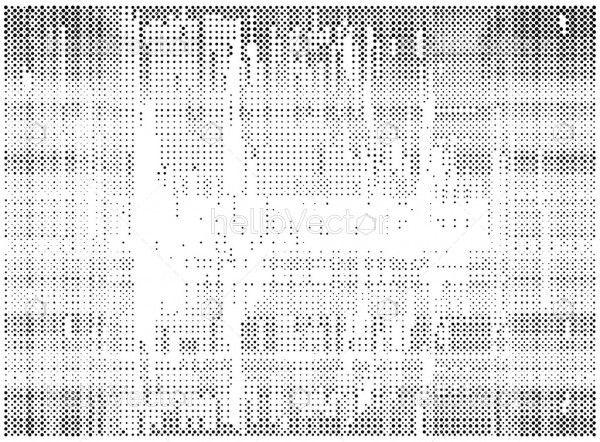 Halftone dots vector texture overlay