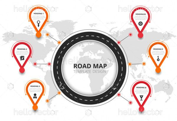Navigation Infographic For Business
