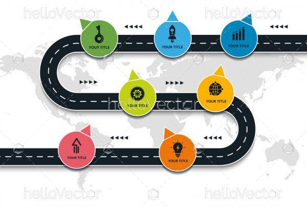 Navigation Roadmap Infographic