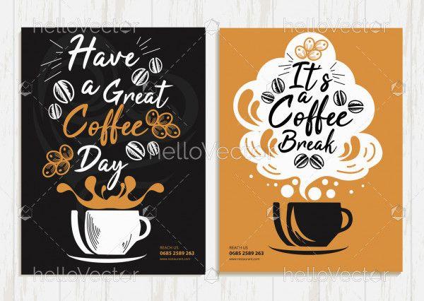 Coffee Shop Brochure Template