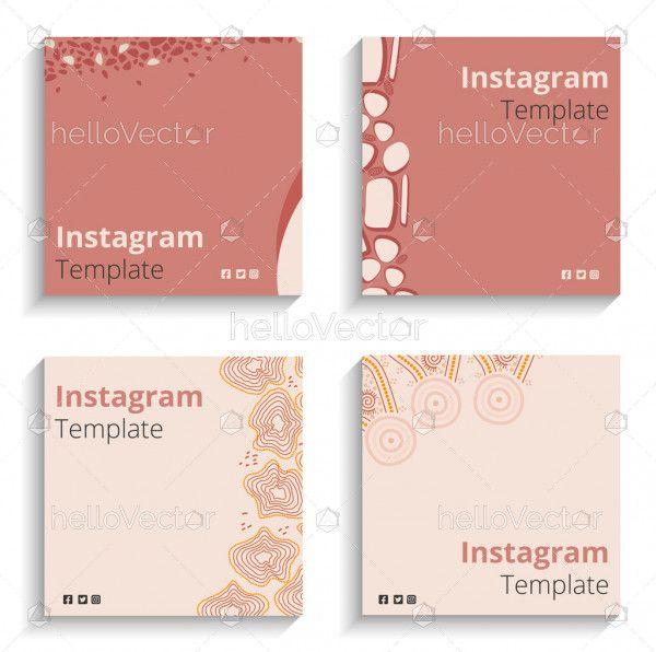 Minimalist Instagram and social media post banner