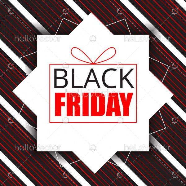 Black friday gift sale poster