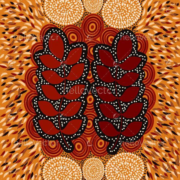Australian bush medicine art