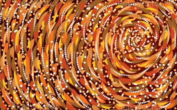 Aboriginal texture background