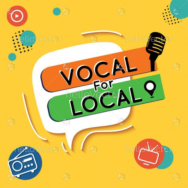Vocal for Local vector graphic