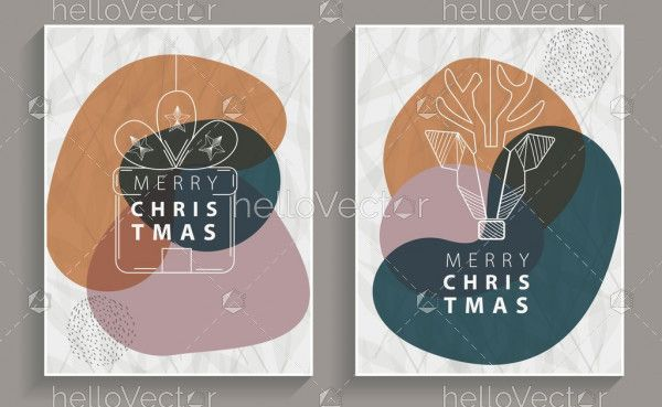 Minimalist Christmas Greeting Cards
