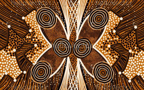 Vector Indigenous Artwork