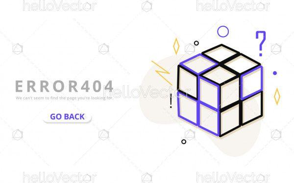 404 error web template