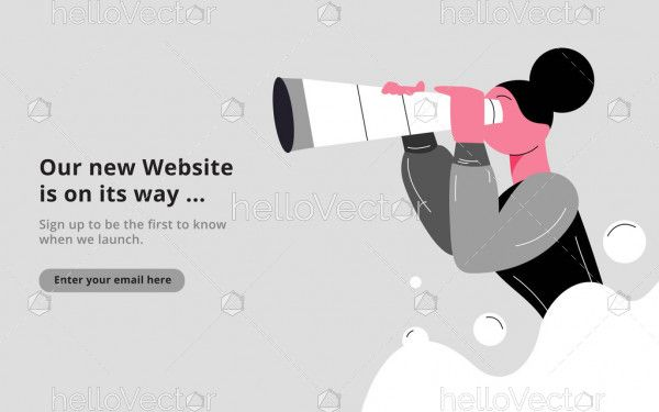 Searching for website - coming soon template