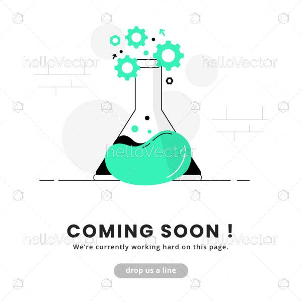 Coming soon template for website
