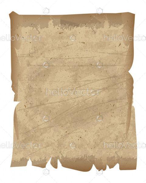 Old Antique vintage paper