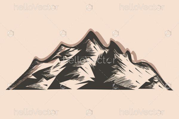 Rocky Mountain Vector