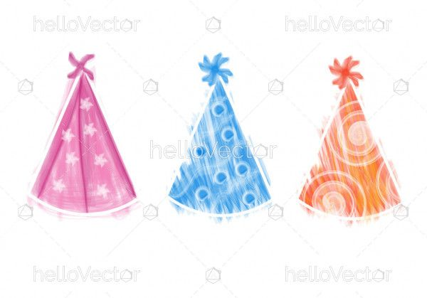 Birthday party hat collection