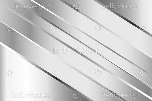 Silver background with overlap layers
