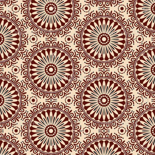 Seamless flower pattern background. Modern stylish texture design- Vector illustration