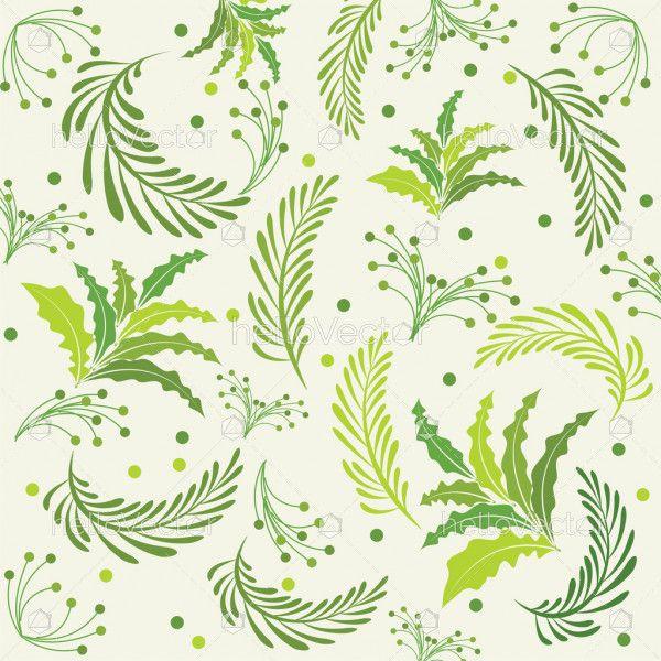 Leaves Background - Vector illustration