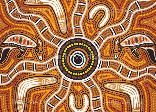 Vector Aboriginal Painting