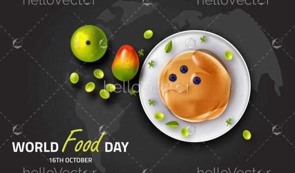 World Food Day Illustration, 16th October