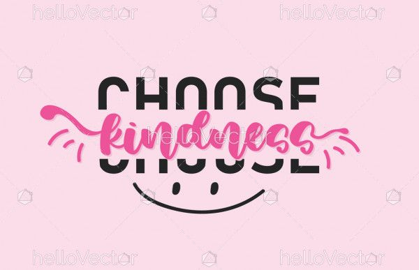 Choose Kindness Typography