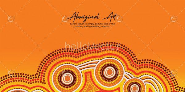 Aboriginal Banner Artwork