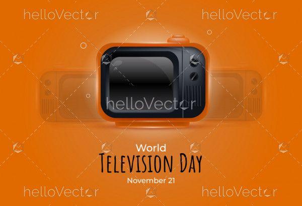 World Television Day Banner Design