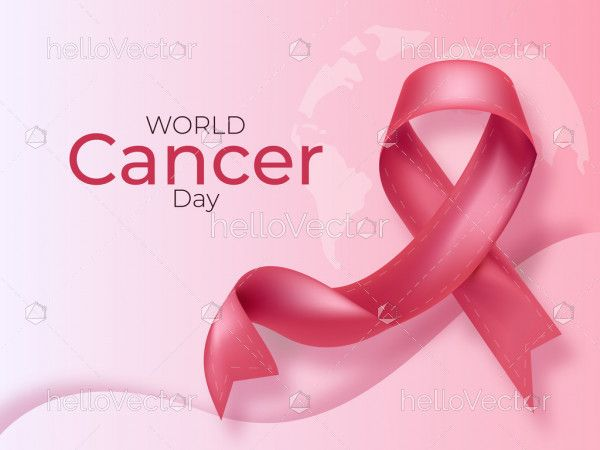 World Cancer Day Concept Background
