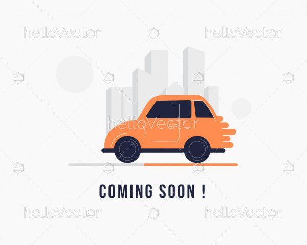 Website coming soon minimal template